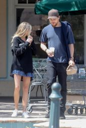 Charlotte Mckinney - Getting Some Coffee in Malibu 4/9/2017