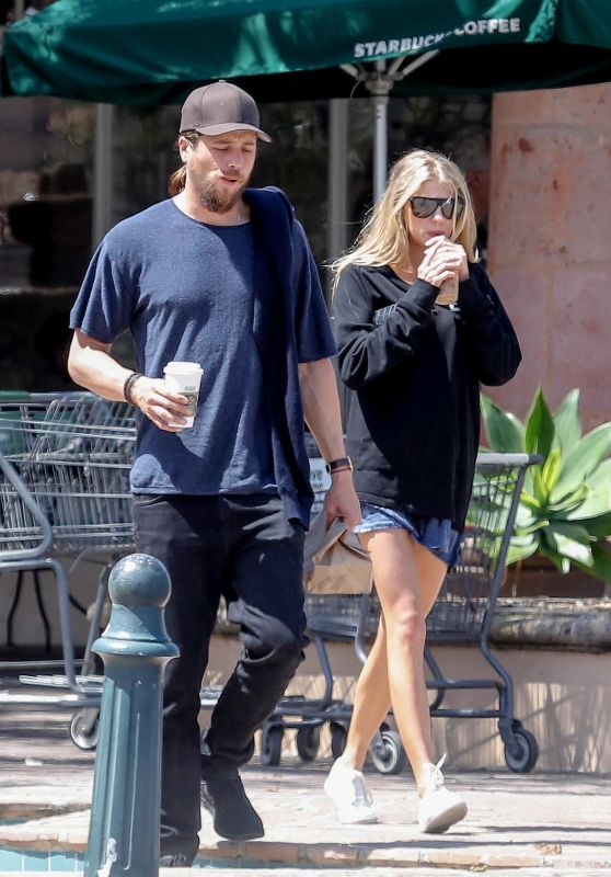 Charlotte Mckinney - Getting Some Coffee in Malibu 4/9/2017