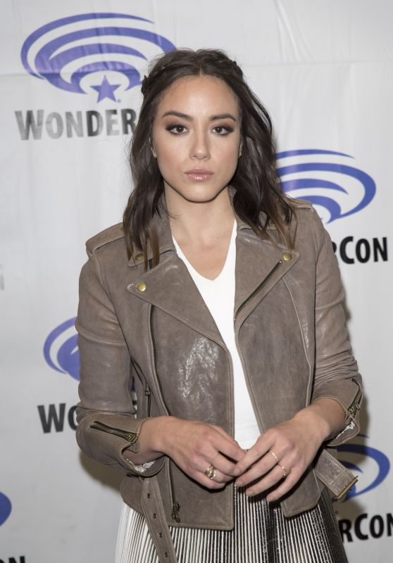 Chloe Bennet – Agents of Shield Press Room at WonderCon in Anaheim 4/1/2017