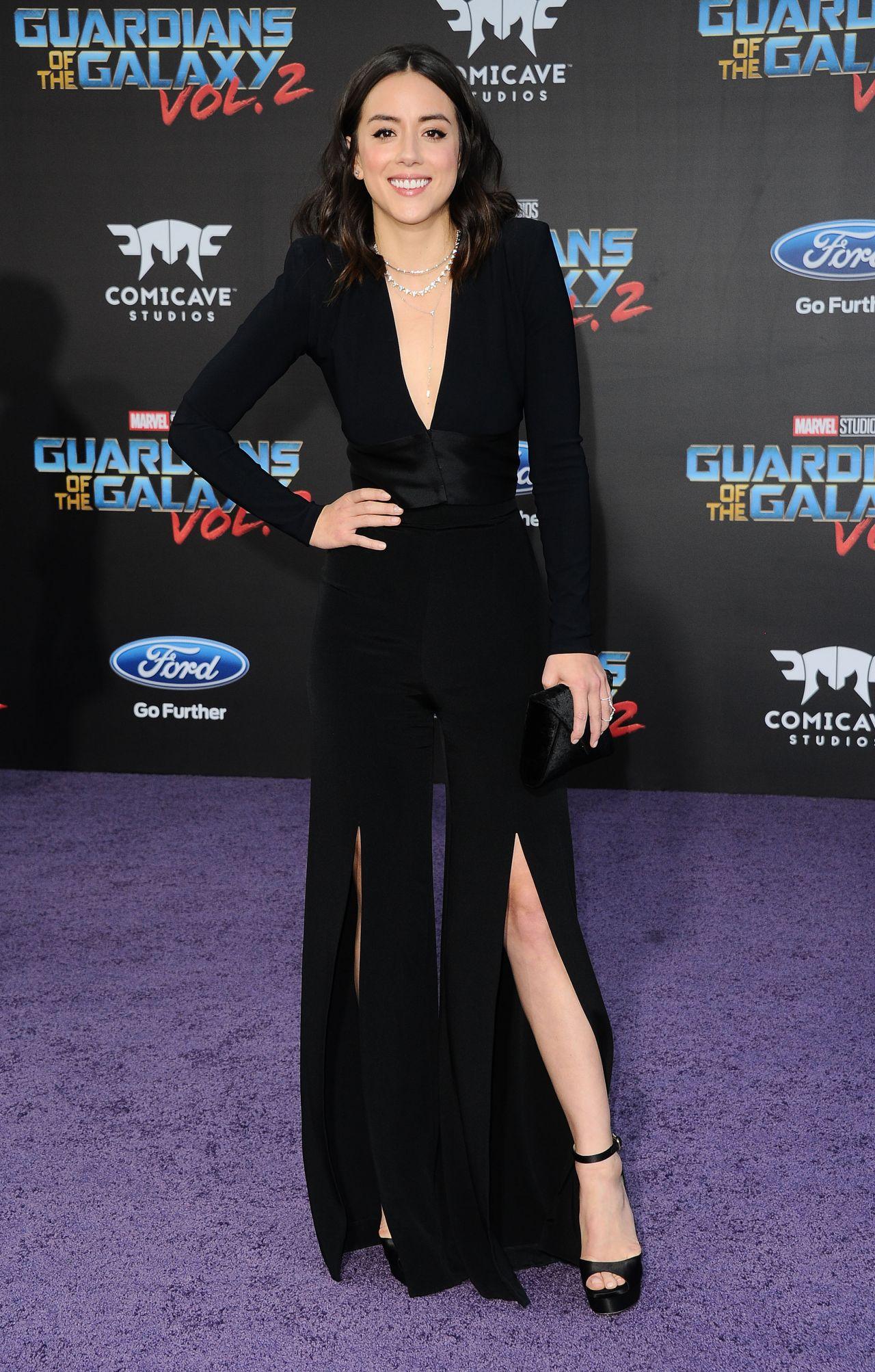 Chloe Bennet Quot Guardians Of The Galaxy Vol 2 Quot Premiere