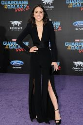 "Chloe Bennet - ""Guardians of the Galaxy Vol. 2"" Premiere in Hollywood 4/19/2017"