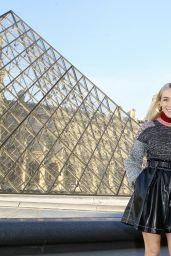 Chloe Sevigny at Louis Vuitton Dinner Party, Louvre in Paris 4/11/2017
