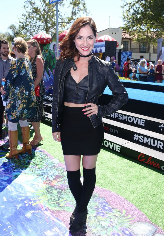 "Christina Elizabeth Smith at ""Smurfs: The Lost Village"" Premiere in Los Angeles"