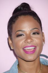 Christina Milian at PrettyLittleThing x Stassie Launch Party in LA 4/11/2017