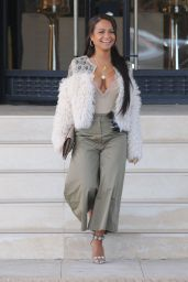 Christina Milian is Stylish at Barneys New York in Beverly Hills 04/28/2017
