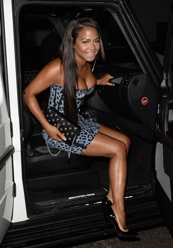 Christina Milian Night Out Style - TAO in New York 04/26/2017