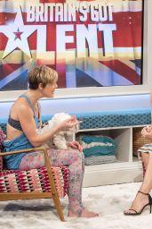 Christine Bleakley at Lorraine TV Show in London 4/17/2017