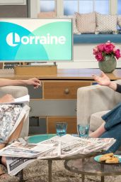 Christine Bleakley at Lorraine TV Show in London, UK 4/20/2017