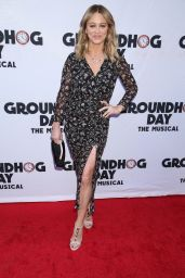 """Christine Taylor – """"Groundhog Day"""" the Musical in New York 4/17/2017"""