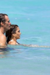 Cindy Crawford - Bikini Candids from Vacation in St. Barts 4/4/2017