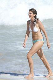Cindy Crawford Shows Off Bikini Body - St Barth 4/7/2017