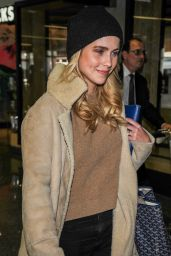 Claire Holt at LAX Airport in LA 4/4/2017
