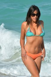 Claudia Romani Bikini Photos - Miami Beach 04/20/2017