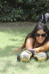 Claudia Romani Photoshoot in Miami, April 2017