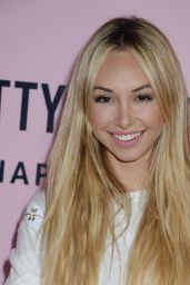 Corinne Olympios – PrettyLittleThing Campaign Launch for PLT SHAPE in LA 4/11/2017