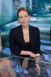 """Cristiana Capotondi Appeared on """"Che tempo che fa"""" TV Show in Milan 4/2/2017"""