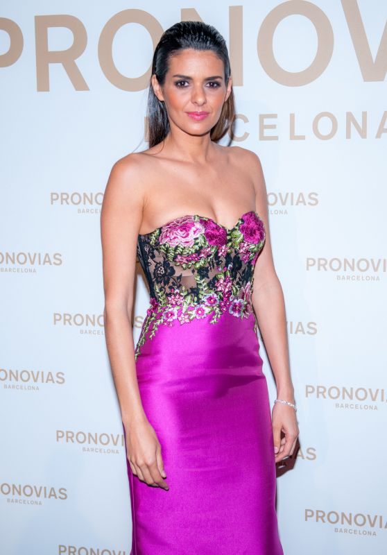 Cuca Roseta – Barcelona Photocall at the Pronovias Catwalk Show 04/28/2017