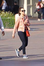 Daisy Ridley at the Disney California Adventure Park in Anaheim 4/3/2017
