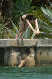 Dakota Johnson BIkini Candids - Miami 4/2/2017