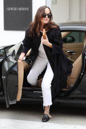 Dakota Johnson Casual Style - Shopping in Beverly Hills 04/26/2017