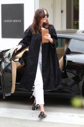 Dakota Johnson Casual Style - Shopping in Los Angeles 04/25/2017