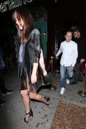 Dakota Johnson - Leaving Peppermint Night Club in West Hollywood 4/22/2017