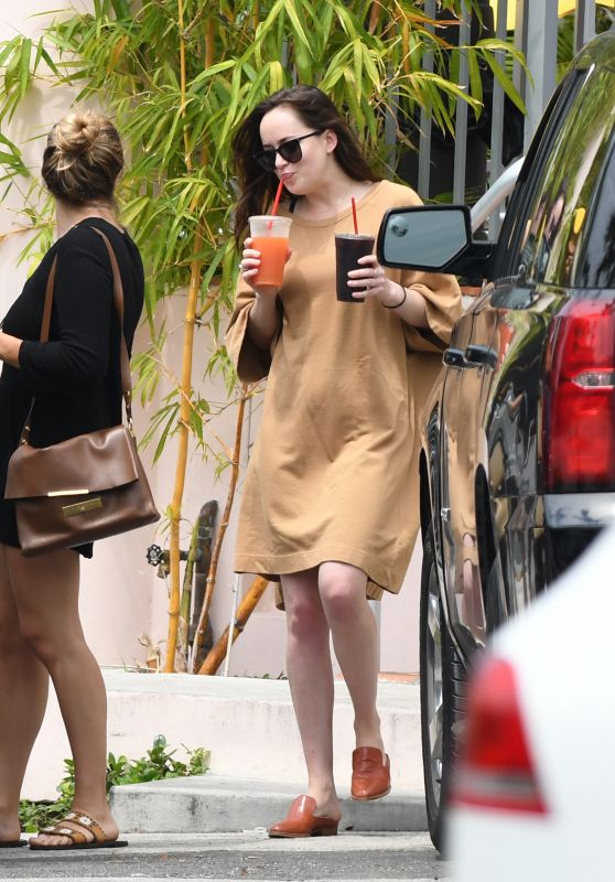 Dakota Johnson - Out and About in Miami, FL 4/2/2017