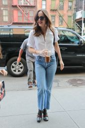 Dakota Johnson - Out and About in Soho, NY 04/28/2017