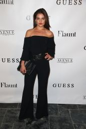 Danielle Campbell - Flaunt and Guess Celebration of the Alternative Facts Issue, LA 4/11/2017