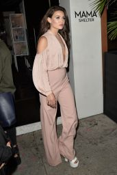 Danielle Campbell - Leaves a Party For Harpers Bazaar in Los Angeles 04/27/2017