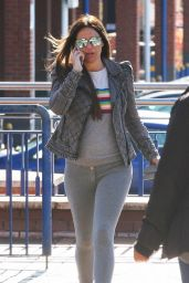 Danielle Lloyd - Shopping in Sutton Coldfield, UK 04/25/2017
