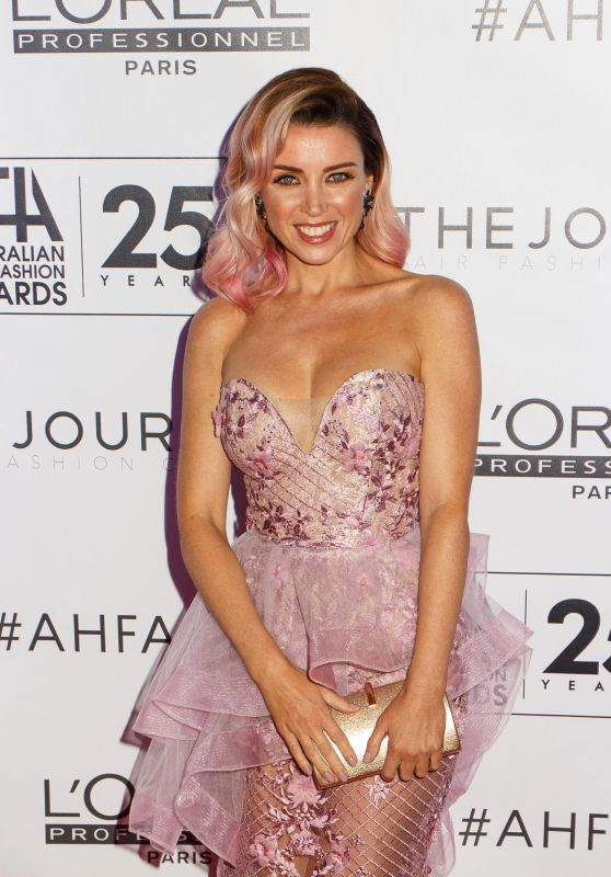 Dannii Minogue - Australian Hair Fashion Awards in Sydney 4/2/2017