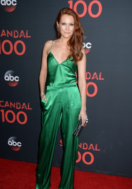 """Darby Stanchfield – """"Scandal"""" 100th Episode Celebration in WeHo 4/8/2017"""