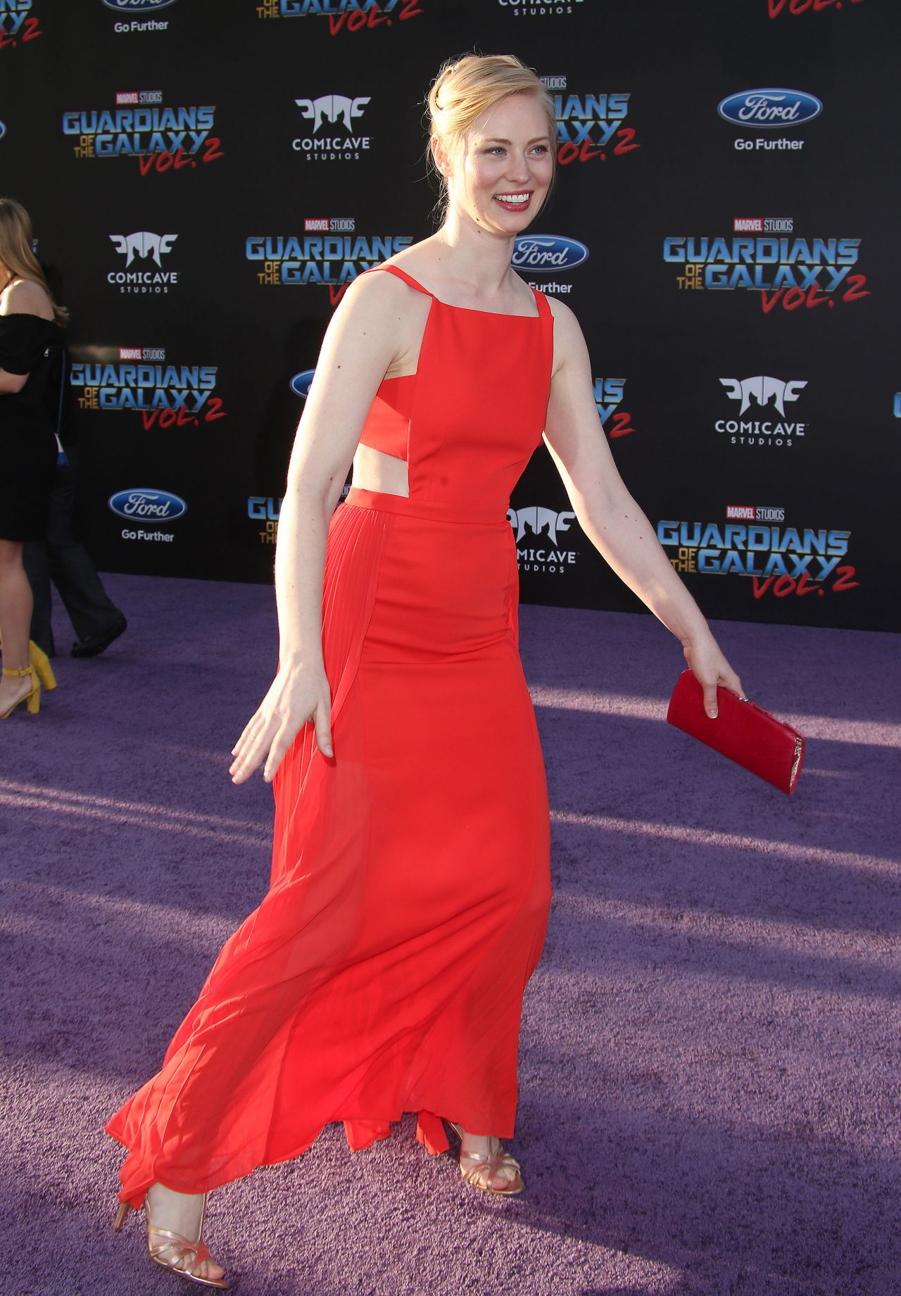 Deborah Ann Woll Guardians Of The Galaxy Vol 2 Premiere