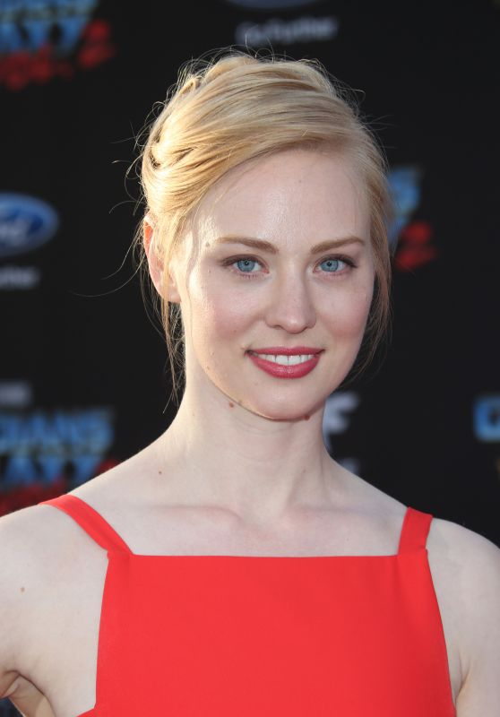 Deborah Ann Woll – Guardians of the Galaxy Vol. 2 Premiere in Los Angeles