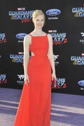 Deborah Ann Woll – Guardians of the Galaxy Vol. 2 Premiere in Los Angeles