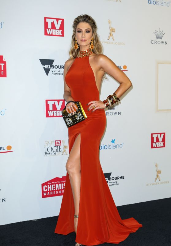 Delta Goodrem - TV Week Logie Awards in Melbourne, Australia 4/23/2017