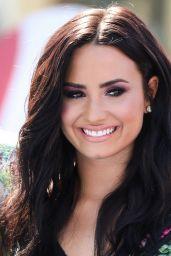 """Demi Lovato at """"Smurfs: The Lost Village"""" Premiere in Los Angeles"""