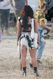 "Demi Lovato - Filmed a music video for her song ""No Promises"" 4/12/2017"