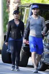 "Demi Lovato Hike With Her Boyfriend Guilherme ""Bomba"" Vasconcelos - Runyon Canyon Park in LA 4/9/2017"