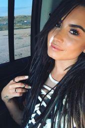 Demi Lovato Social Media Pics 4/22/2017