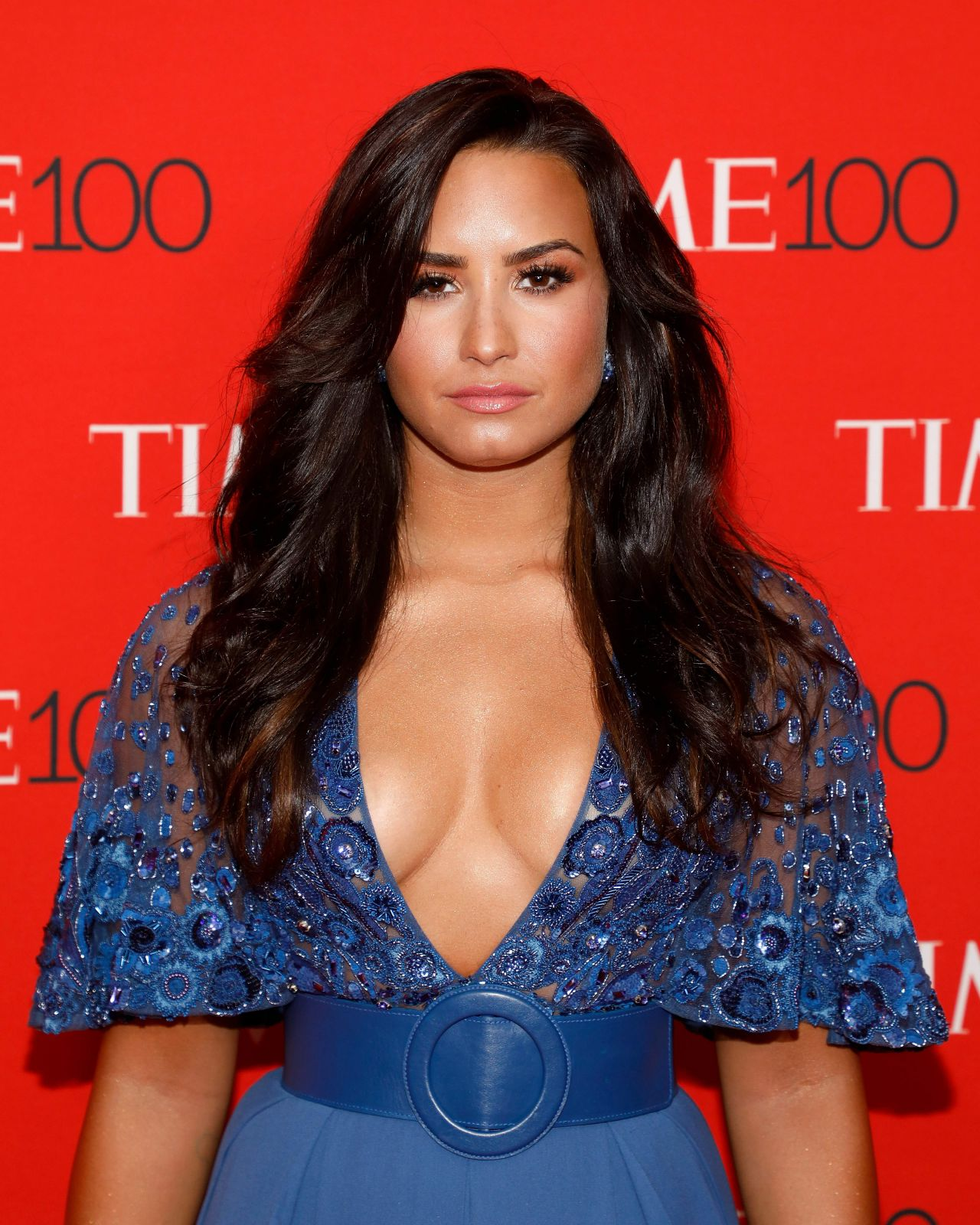 Demi Lovato Time 100 Gala At Jazz At Lincoln Center In