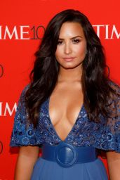Demi Lovato – Time 100 Gala at Jazz at Lincoln Center in NYC 04/25/2017