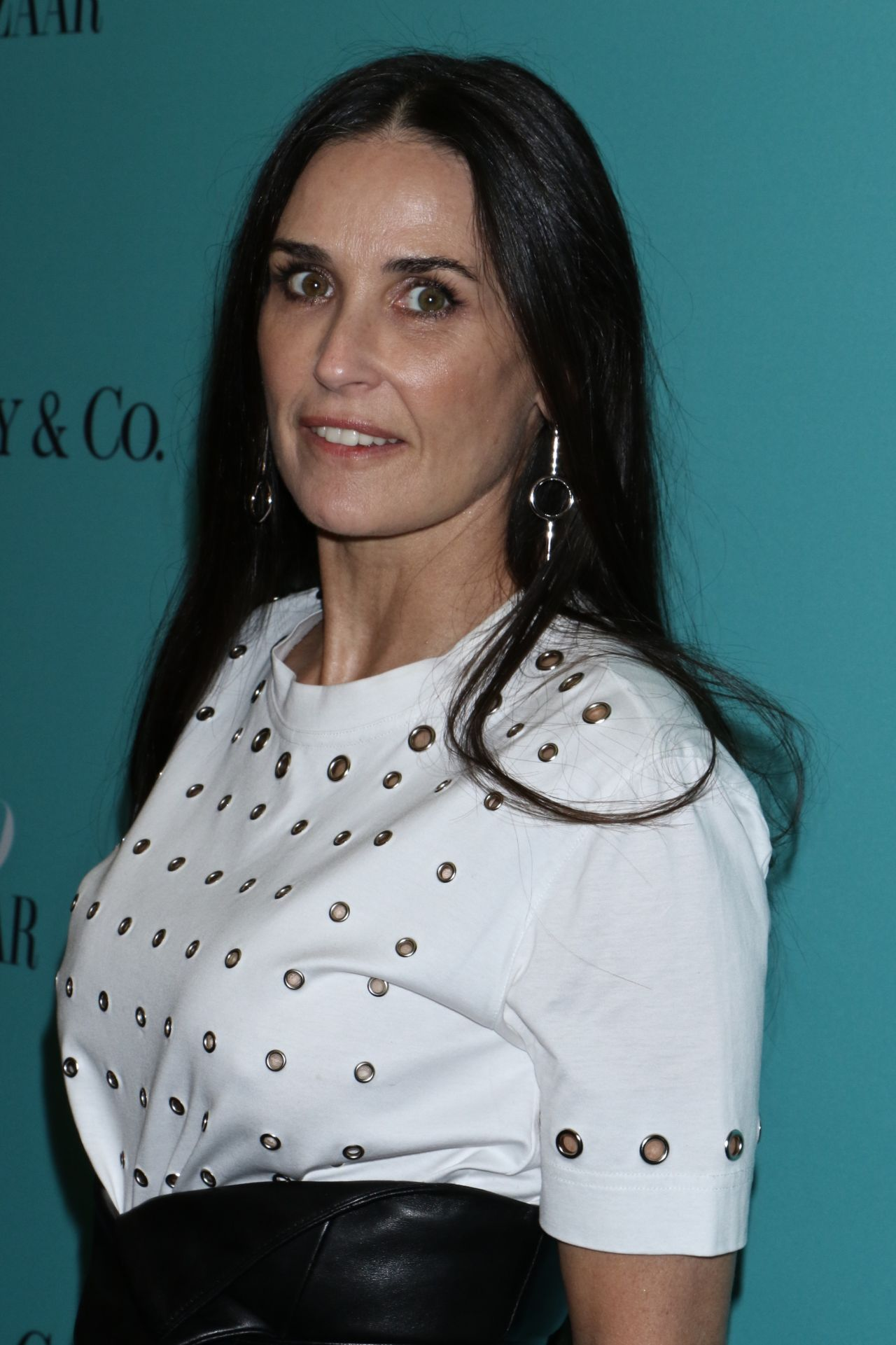 Demi Moore Harper S Bazaar And Tiffany And Co Celebrate