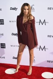 Desi Perkin on Red Carpet at Daily Front Row's Fashion Los Angeles Awards 2017