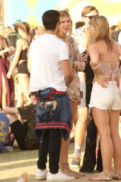 Devon Windsor at Coachella in Indio, California 4/16/2017