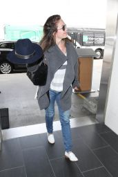 Diane Lane Catching a Flight Out of Los Angeles 4/17/2017