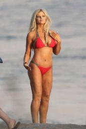 Donna D'Errico - Baywatch themed Bikini Photoshoot in Malibu 04/27/2017
