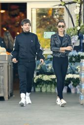 Eleanor Calder and Louis Tomlinson - Leaving Bristol Farms Supermarket in West Hollywood 4/10/2017