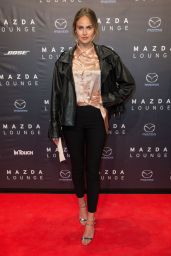 Elena Carriere - Mazda CX-5 at a Spring-Cocktail in Duesseldorf, Germany 04/27/2017